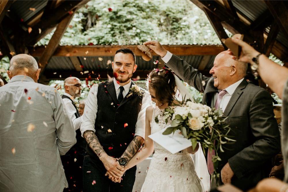Confetti Arnos Vale Wedding Chloe Mary Photography