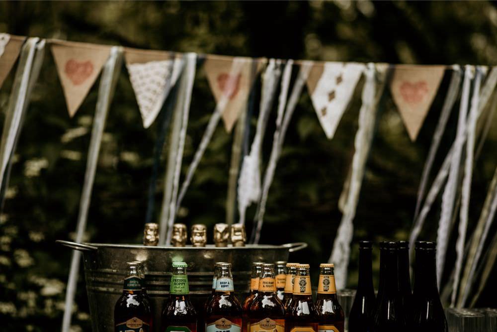 Drinks Bar Station Arnos Vale Wedding Chloe Mary Photography