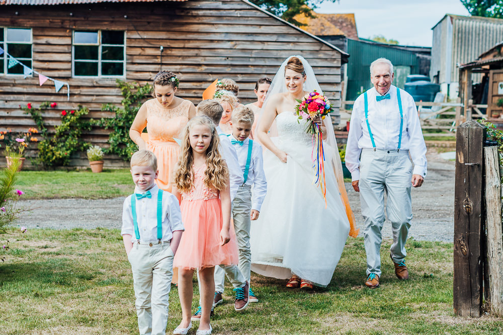Bridesmaids Peach Bridesmaid Dress Dresses Big Top Wedding Anna Pumer Photography
