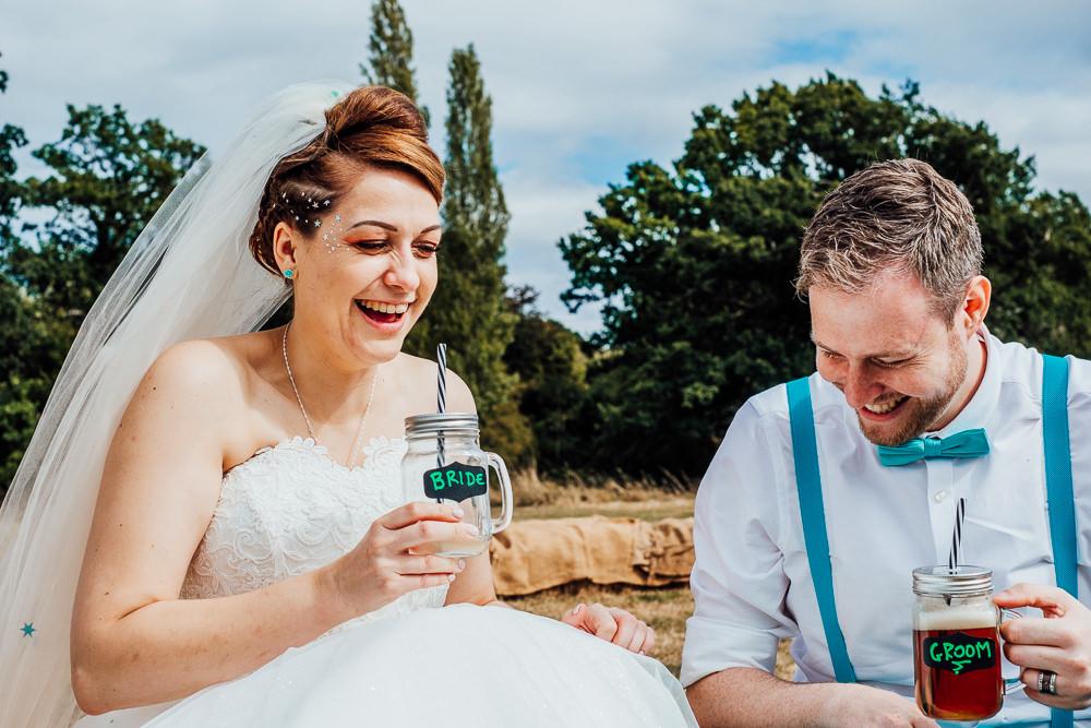 Jar Drinks Big Top Wedding Anna Pumer Photography