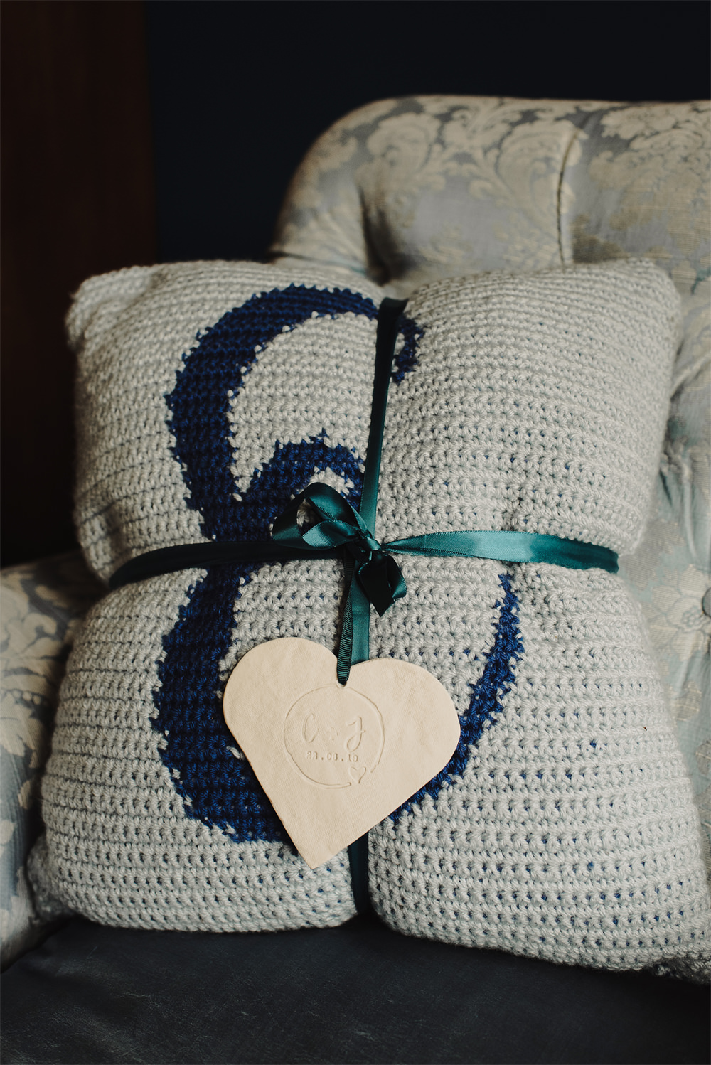 Pillow Cushion Gift Present Cambo Estate Wedding Anna Urban Wedding Photography