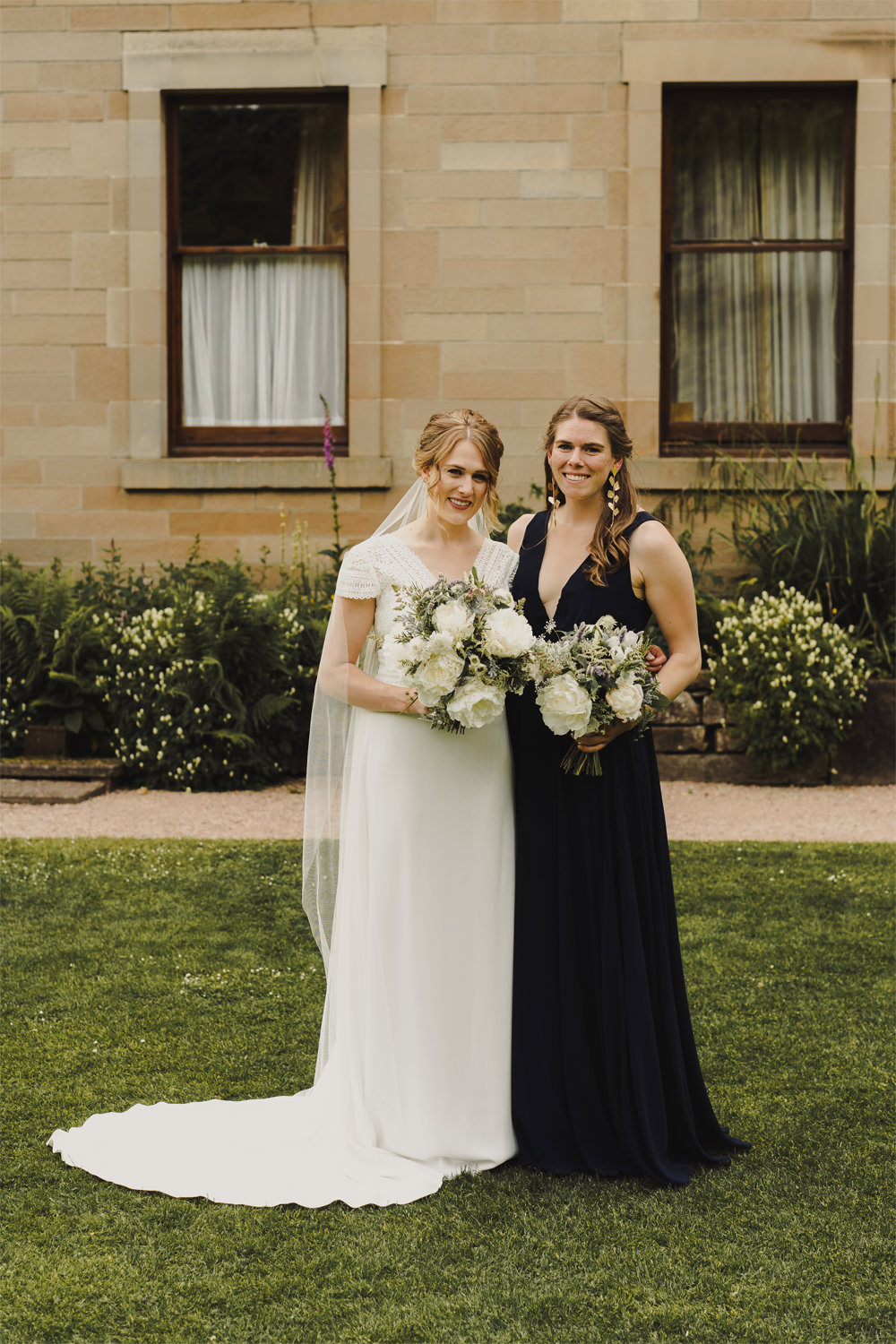 Bridesmaids Bridesmaid Dress Dresses Navy Estate Wedding Anna Urban Wedding Photography