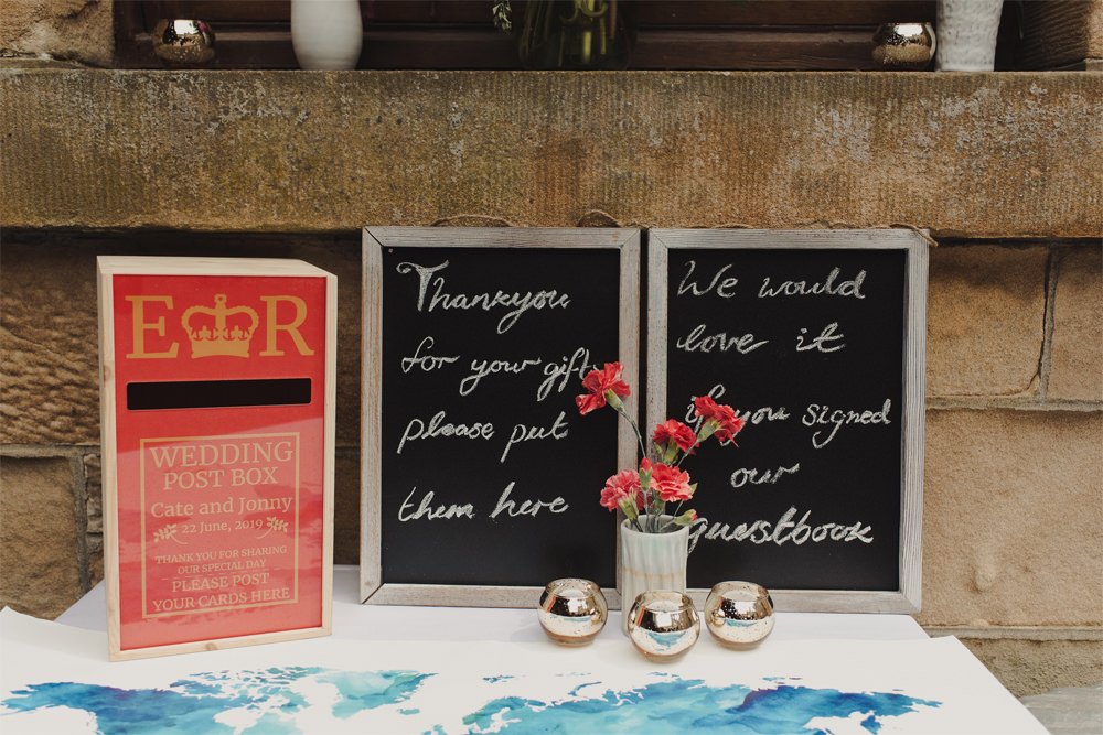 Post Box Cards Cambo Estate Wedding Anna Urban Wedding Photography