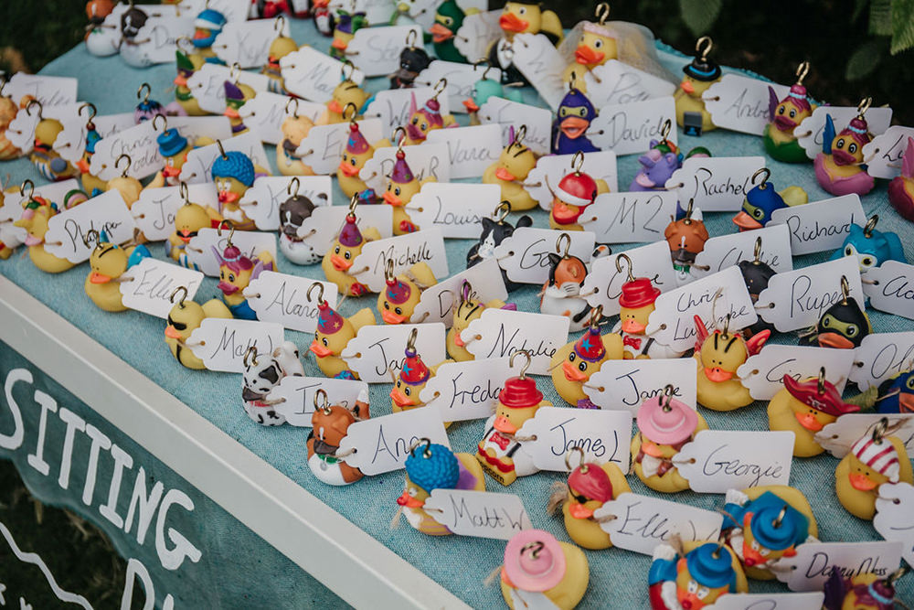 Hook a Duck Seating Plan Table Chart Celeste Marquee Wedding Sarah Longworth Photography