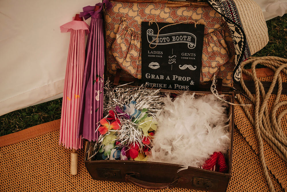 Photo Booth Props Celeste Marquee Wedding Sarah Longworth Photography