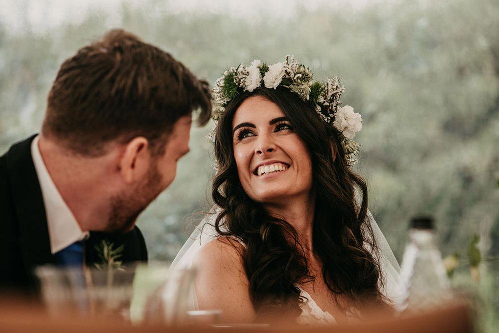 Bride Bridal Make Up Celeste Marquee Wedding Sarah Longworth Photography