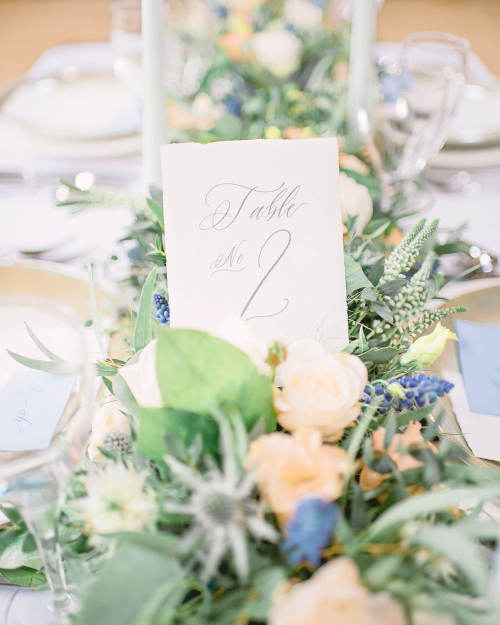 Calligraphy Table Number Name Elegant Wedding Ideas Yll Weddings