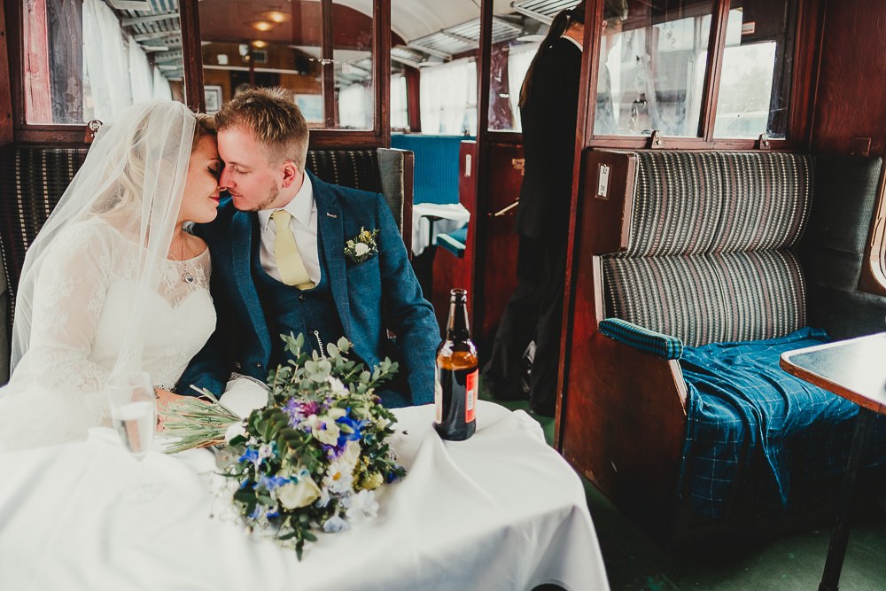 Steam Train Ride Elsecar Heritage Centre Wedding Ayesha Photography