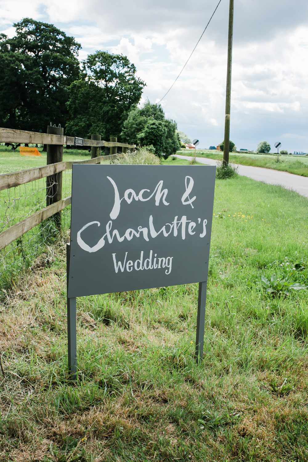 Welcome Sign Lincolnshire Tipi Wedding Jessy Jones Photography