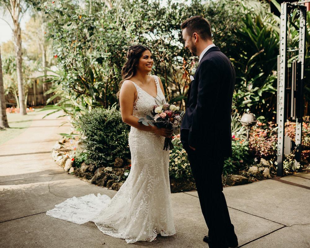 First Look Orlando Wedding Dani Nichol Photography