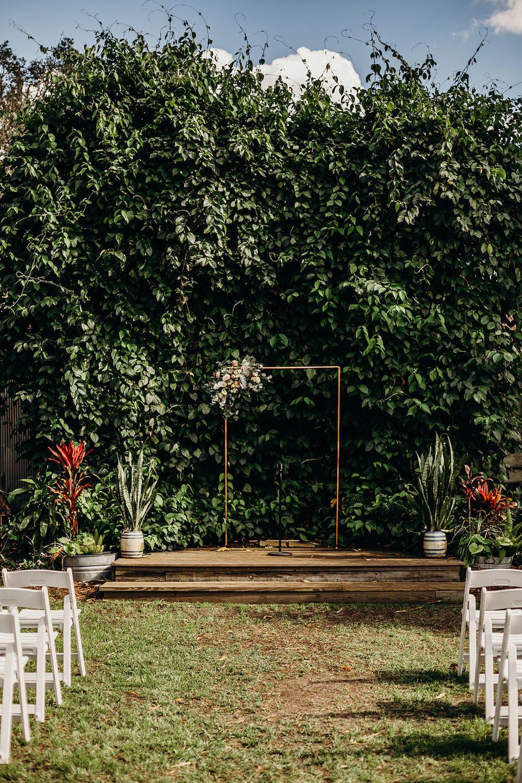 Flowers Flower Arch Arbour Ceremony Backdrop Orlando Wedding Dani Nichol Photography