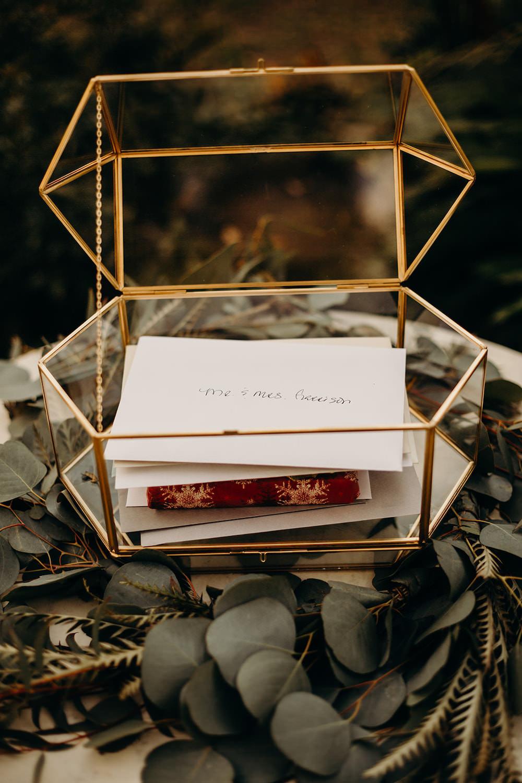 Terrarium Card Box Orlando Wedding Dani Nichol Photography