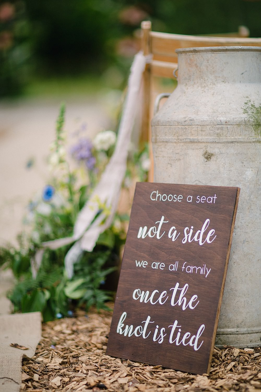 Ceremony Sign Signage Signs Pet Wedding Ideas Vicky Plum Photography