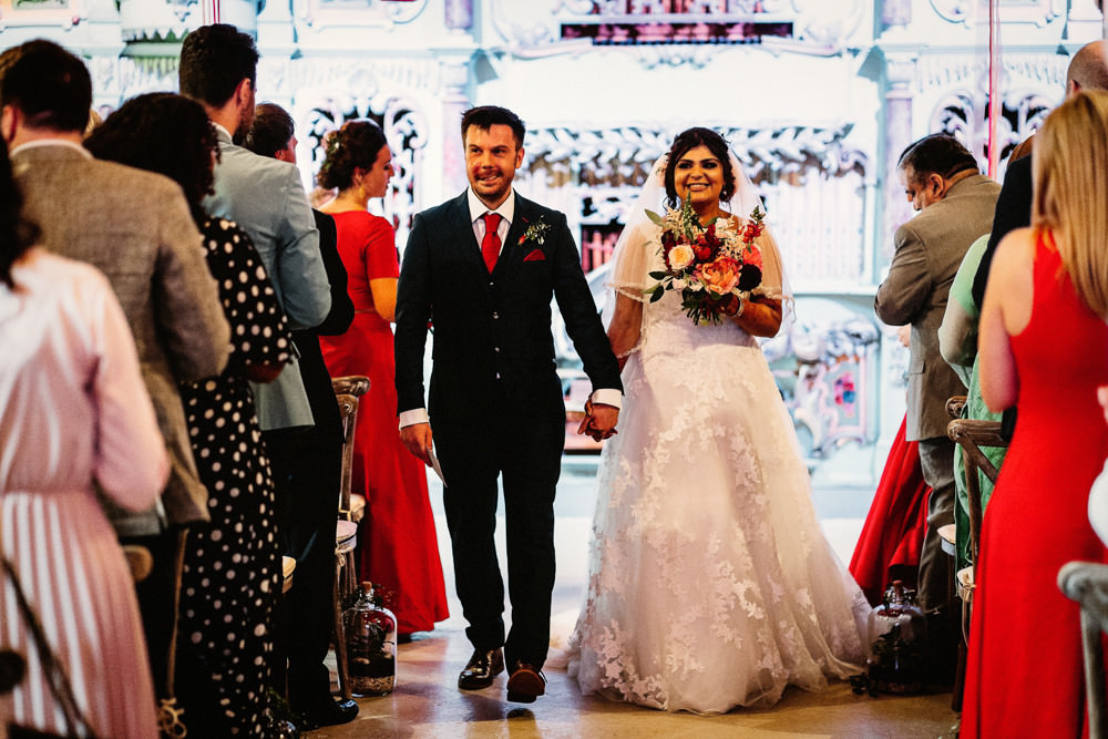 Bride Bridal V Neck A Line Dress Lace Overlay Blue Suit Groom Bouquet Preston Court Wedding The Last Of The Light