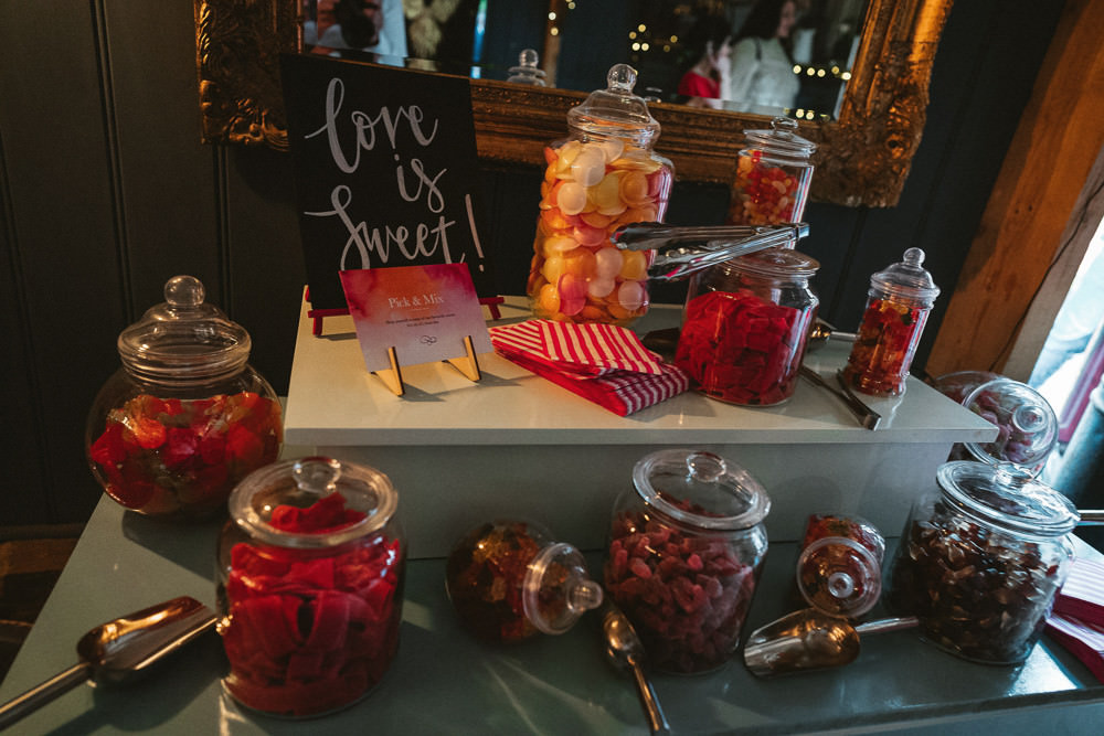 Sweet Table Pick n Mix Love is Sweet Preston Court Wedding The Last Of The Light