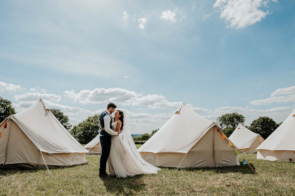 Glamping Bell Tents Village Tipi Wedding Ryan Goold Photography