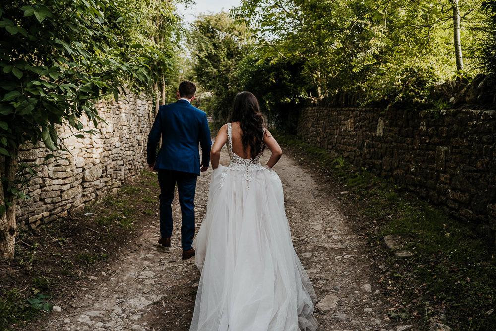 Dress Gown Bride Bridal Tulle Lace Madeline Gardner Village Tipi Wedding Ryan Goold Photography
