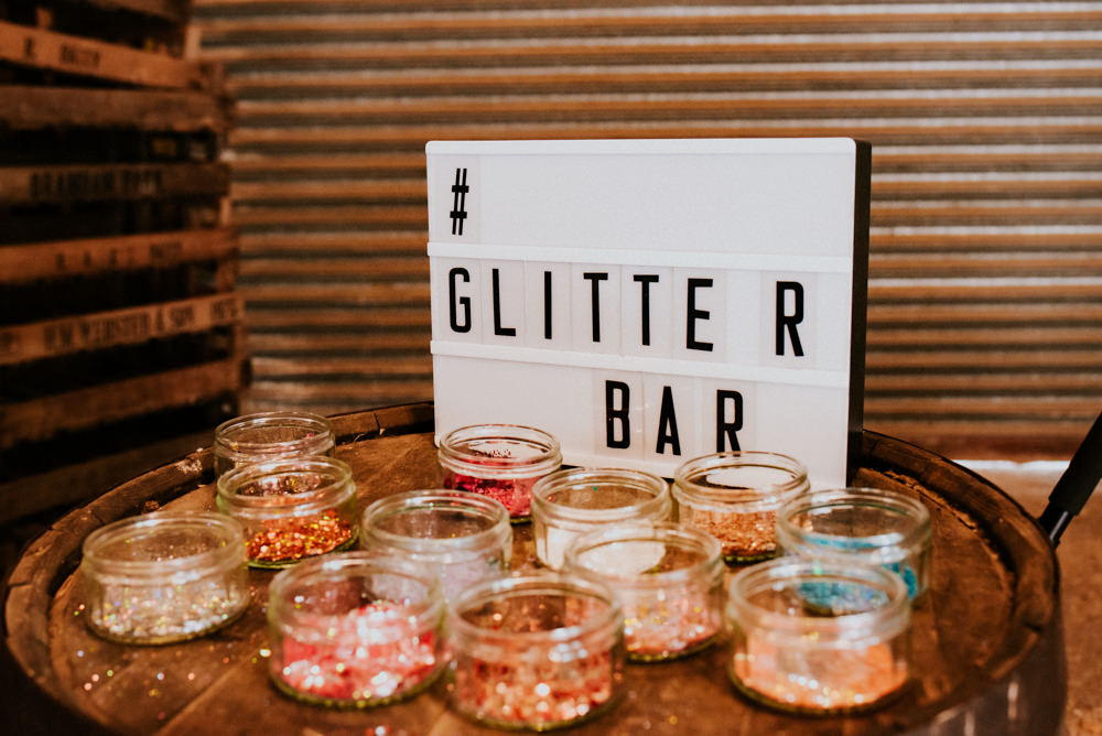 Glitter Bar Barrel Light Up Cinema Sign Bert's Barrow Wedding Shutter Go Click Photography