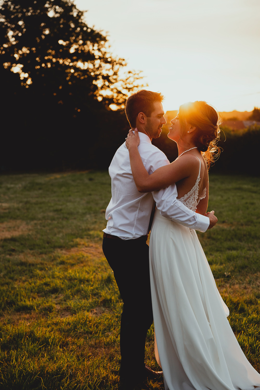 Modern Yet Traditional British Countryside Wedding