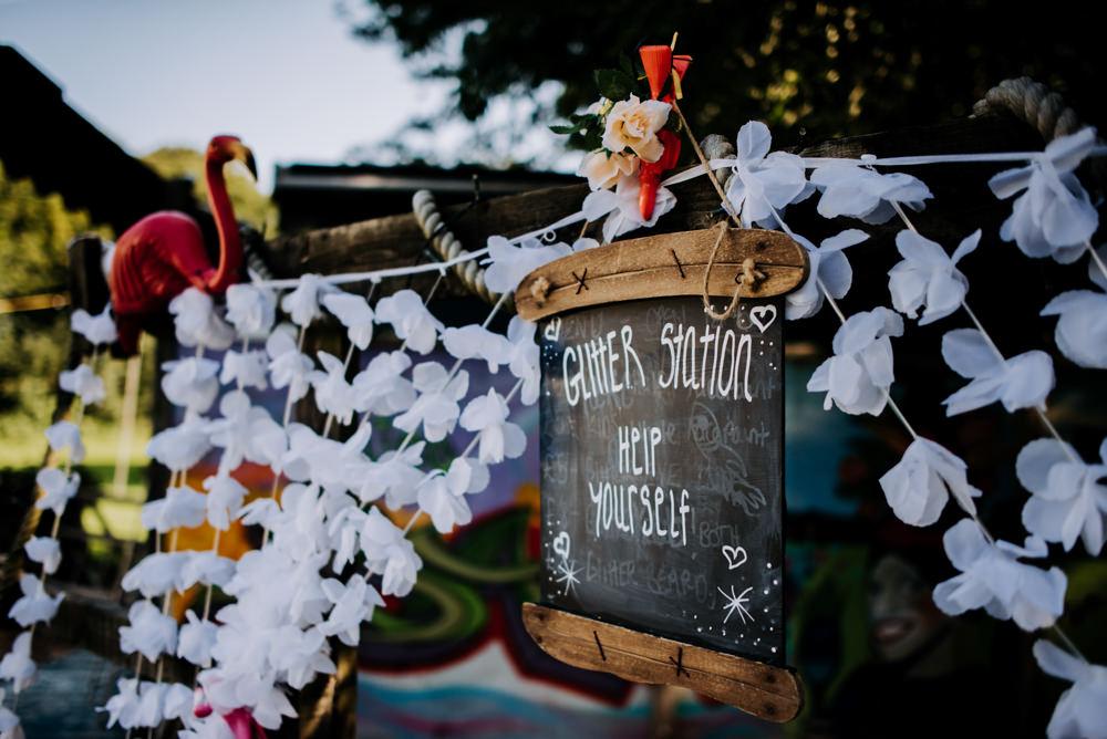 Glitter Station Bar Cabourne Parva Wedding Kazooieloki Photography