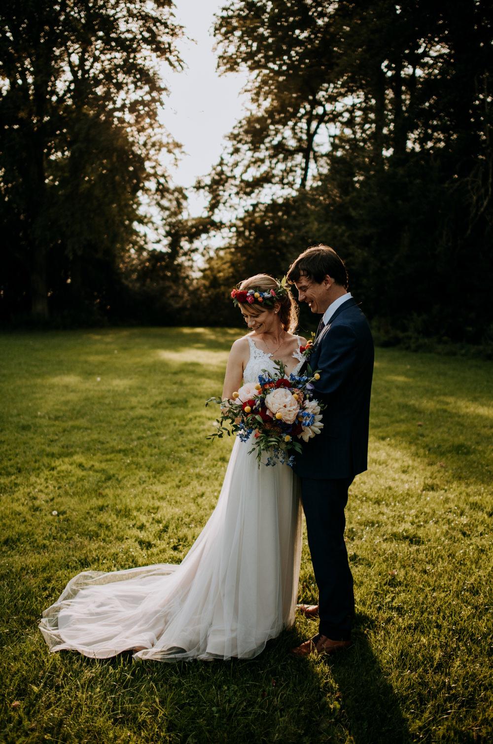 Dress Gown Bride Bridal Tulle Train Straps Cabourne Parva Wedding Kazooieloki Photography