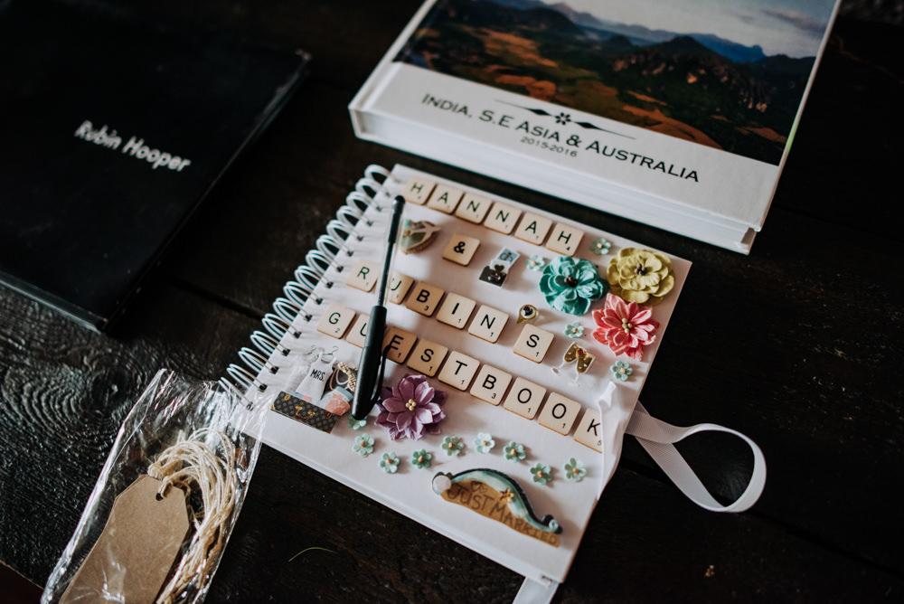 Guest Book Scrabble Letters Cabourne Parva Wedding Kazooieloki Photography
