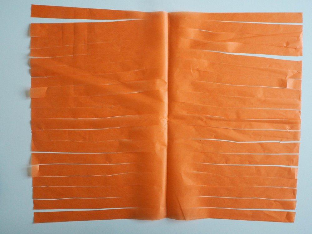 DIY Tassel Garland Tissue Paper Tutorial Rainbow