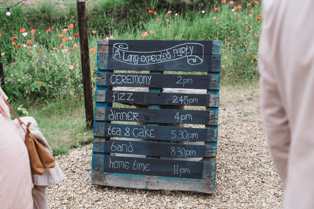 Woode Pallet Chalk Black Board Sign Signs Signage Dried Flowers Wedding Emily Tyler Photography