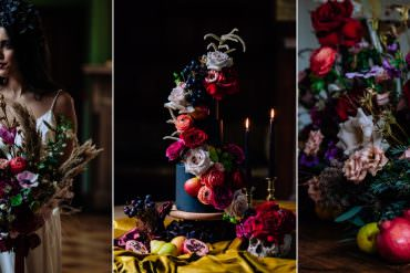 Moody Jewel Tone Dutch Art Wedding Ideas
