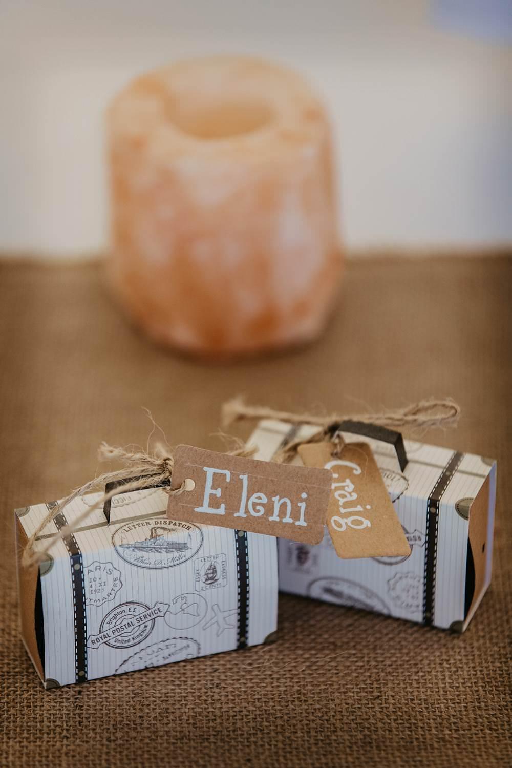 Favour Boxes Favors Eggington House Wedding October Willis Photography