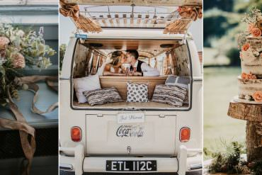 Sage Green & Dusky Pink Travel Inspired Wild Rustic Wedding