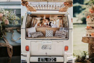 Sage Green & Dusky Pink Travel Inspired Wild Rustic Wedding