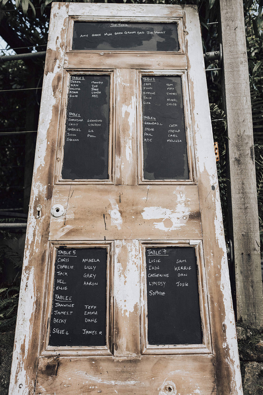Door Seating Plan Table Chart Black Board Chalk Sign Signage Signs Ever After Wedding Younger Photography