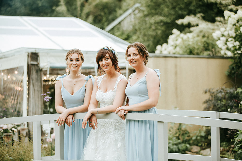 Blue Bridesmaid Bridesmaids Dress Dresses Ever After Wedding Younger Photography