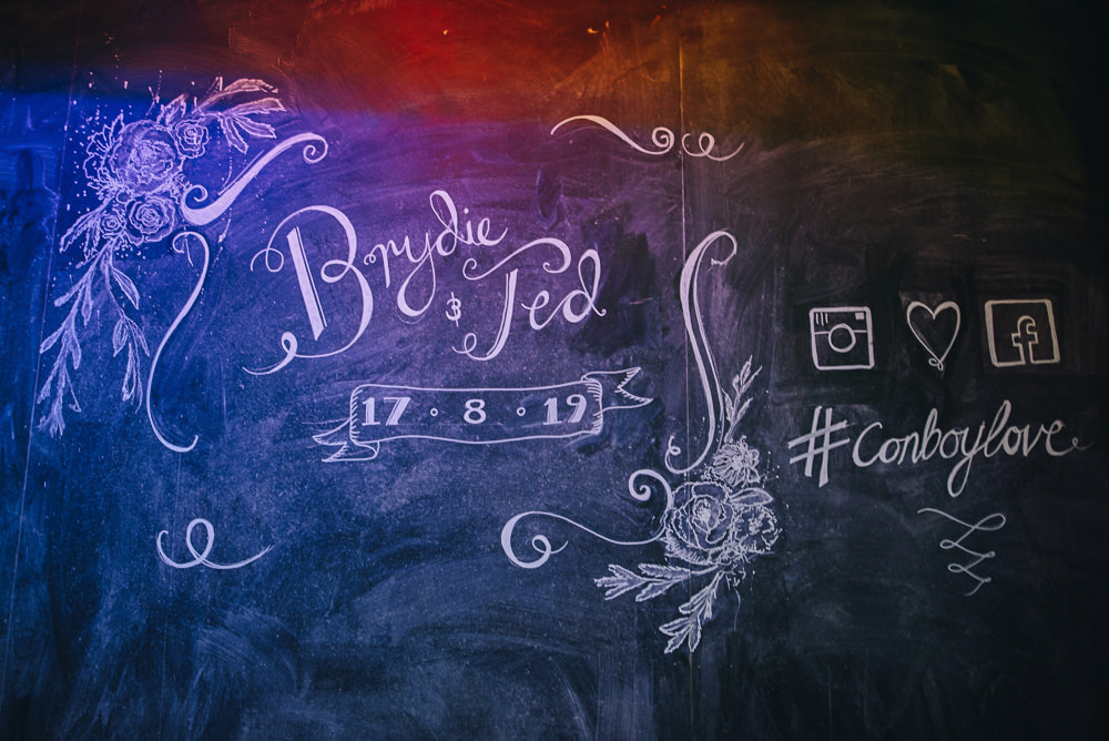 Chalkboard Welcome Sign Fairfield Social Club Wedding The Pin Up Bride