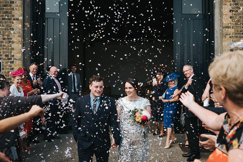 Confetti Fun London Wedding Miss Gen Photography