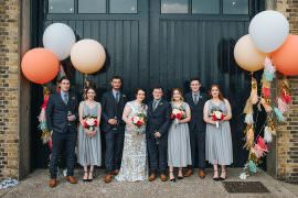 Fun London Wedding Miss Gen Photography