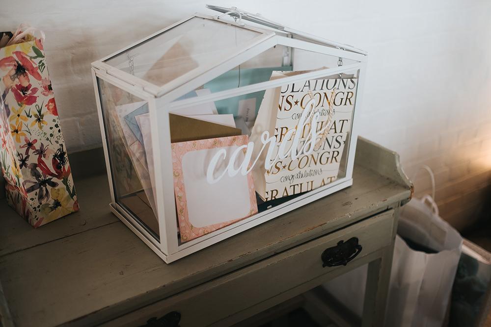 Card Box Terrarium Fun London Wedding Miss Gen Photography