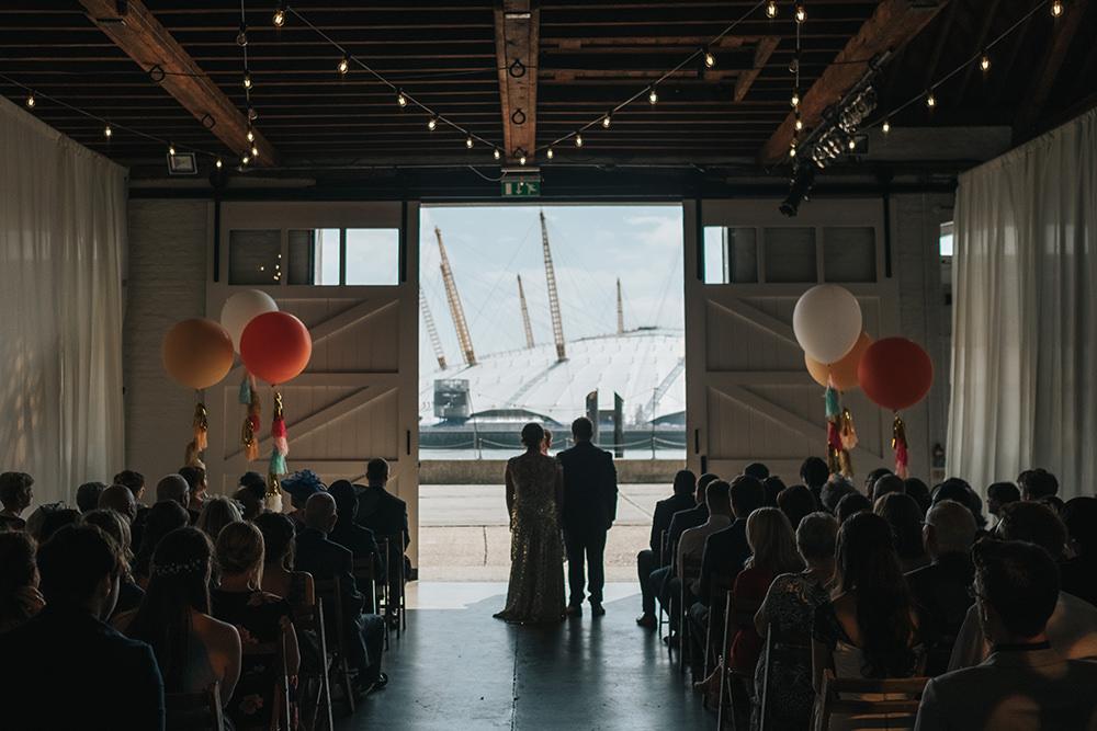 Trinity Buoy Wharf Ceremony Fun London Wedding Miss Gen Photography
