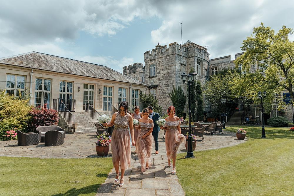 Hazlewood Castle Woodland Wedding Nicola Mackrill Photography