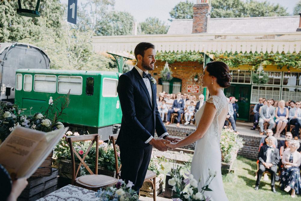 Horsebridge Station Wedding Emily Grace Photography
