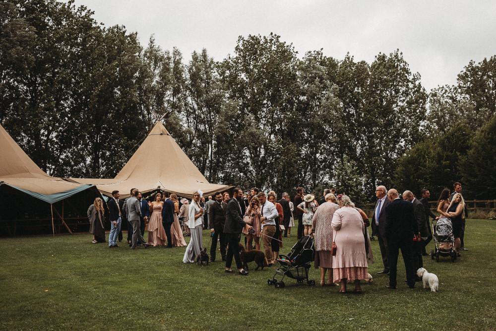 Tipi Horsley Hale Farm Wedding Thyme Lane Photography