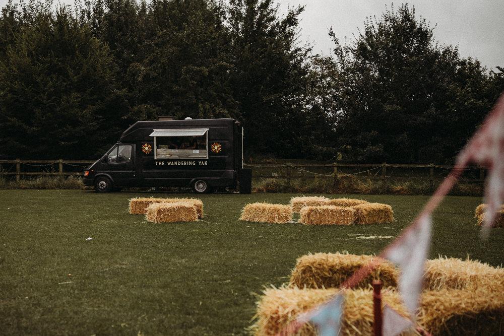 Food Truck Van Horsley Hale Farm Wedding Thyme Lane Photography