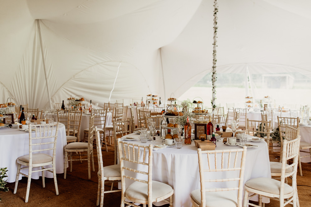 Stretch Tent Marquee Mannington Gardens Wedding Cara Zagni Photography