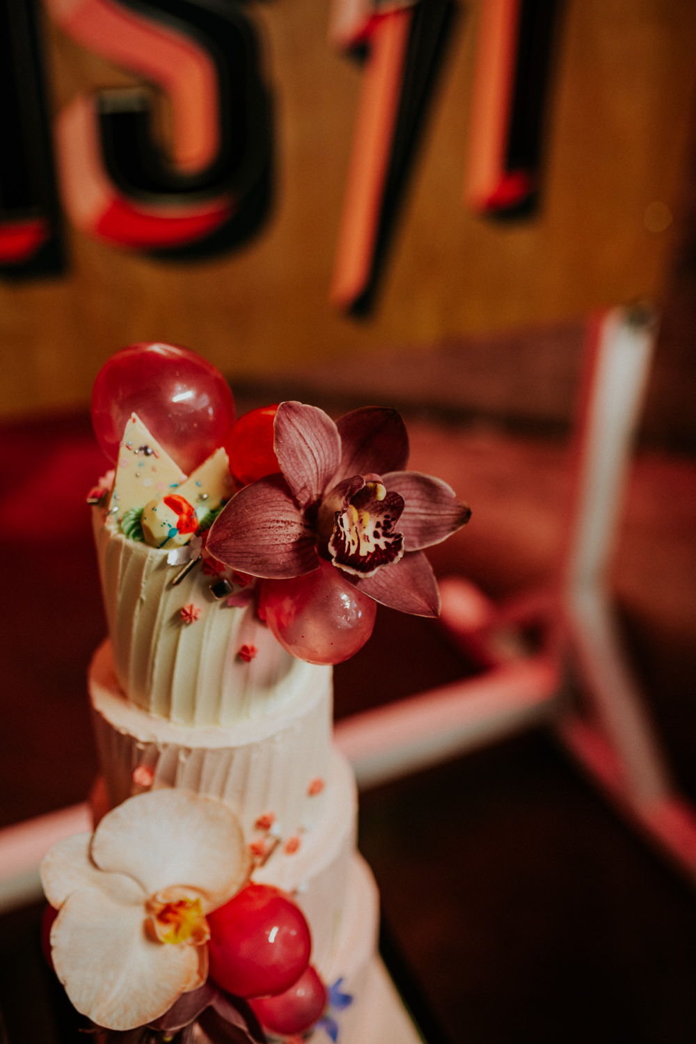 Cake Cakes Floral Neon Sign Wedding Ideas State Of Love and Trust Photography