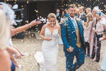 Unforgettable Rustic Yet Modern Barn Wedding