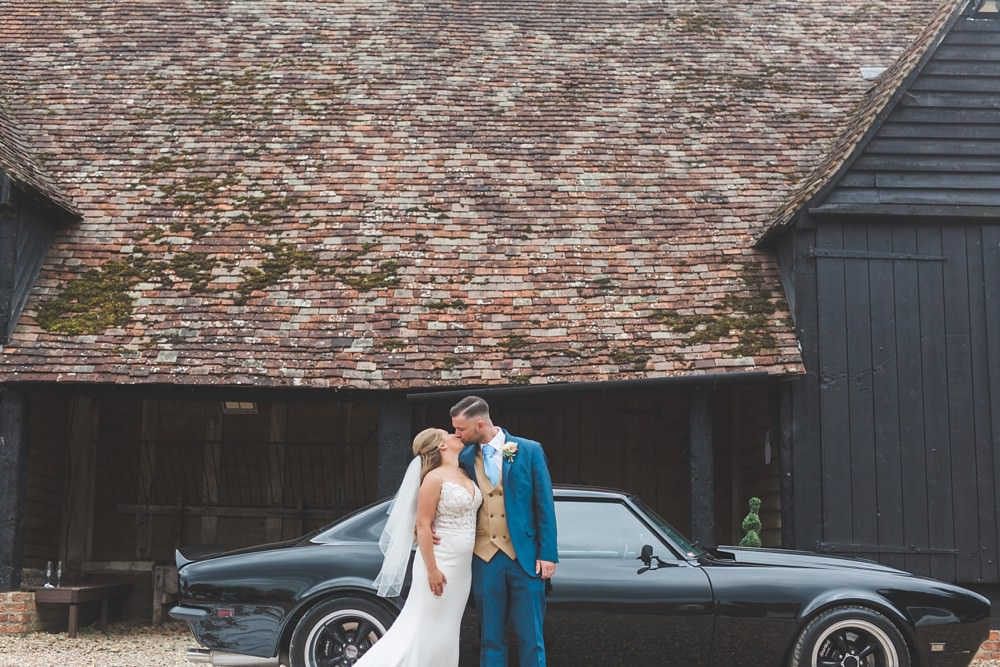 Classic Car Transport Priory Little Wymondley Wedding Milk Bottle Photography
