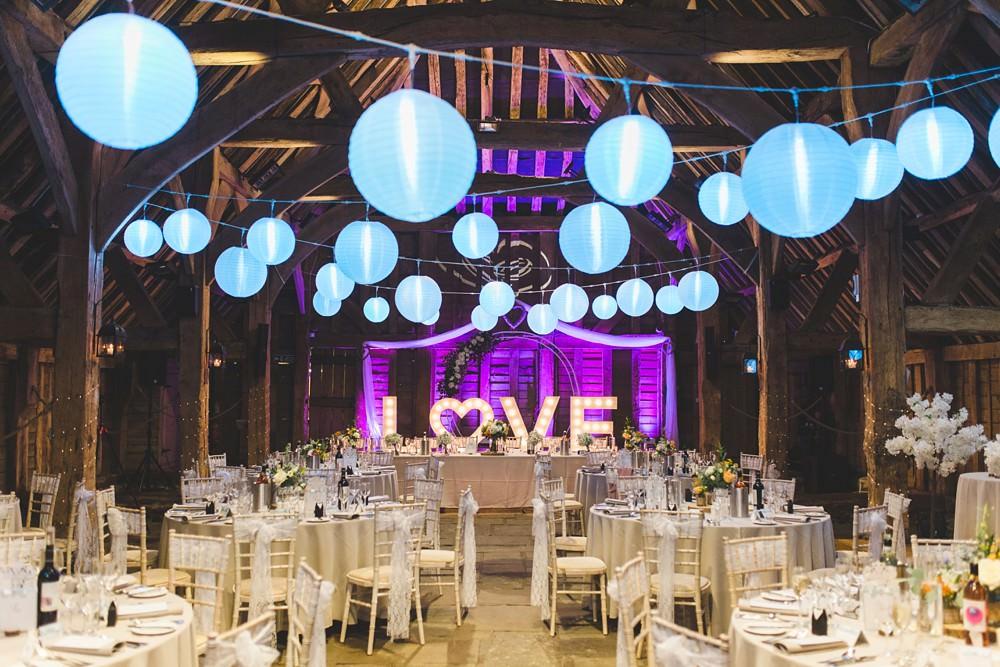 Priory Little Wymondley Barn Wedding Milk Bottle Photography Love Letter Lights Lighting Lanterns