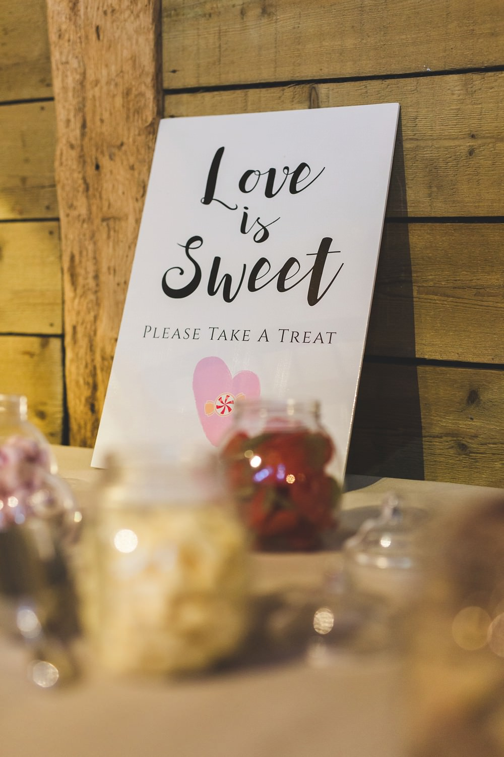 Sweets Sweetie Table Priory Little Wymondley Wedding Milk Bottle Photography