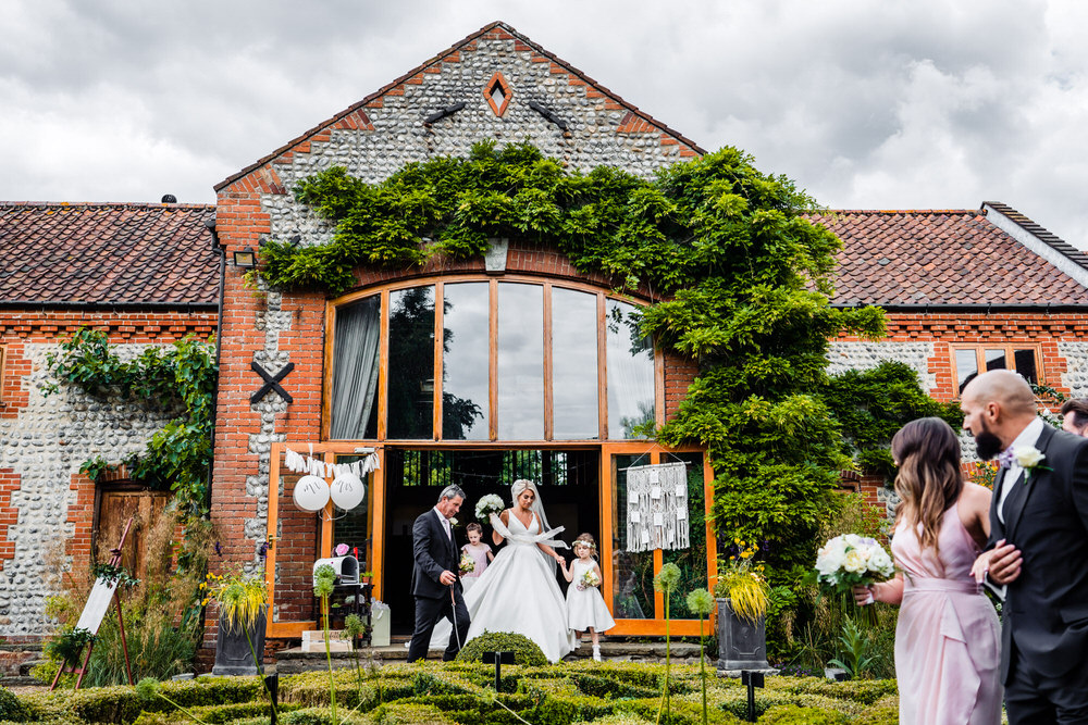 Chaucer Barn Secret Garden Wedding James Powell Photography